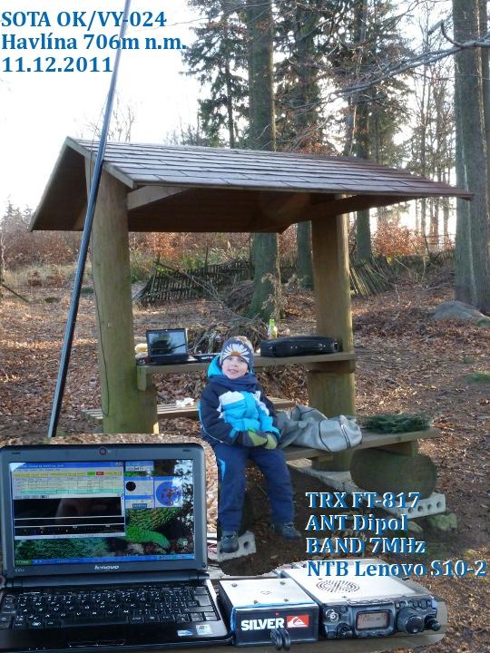 Matyáš a nový sestava zařízení na OK/VY-024
